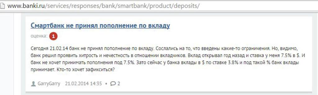 Черный список банков