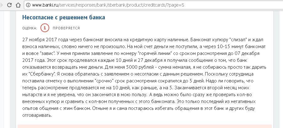 Кредитная карта сбербанк украина