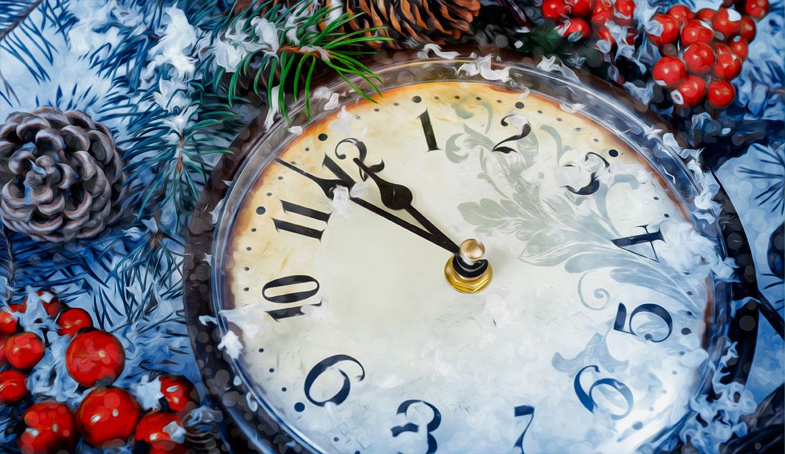 Новогоднее настроение 2018: Межбанк и C2C в праздники